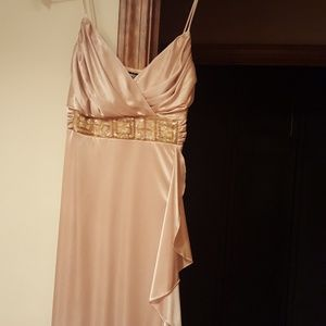 Dresses & Skirts - Gold formal gown